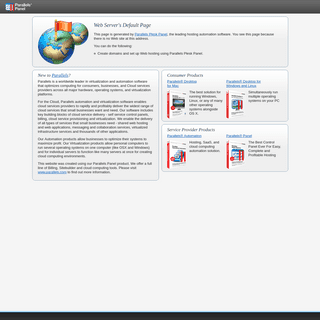 ArchiveBay.com - theodor.at - Default Parallels Plesk Panel Page