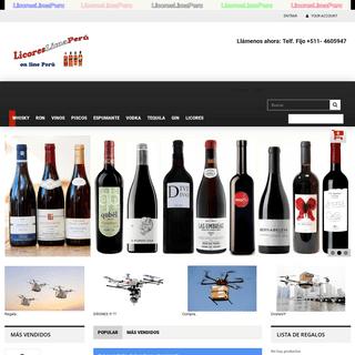 Licores Lima Perú, te ofrece los mejores productos, on line, para organizar tus buenos momentos. - LICORESLIMAPERU