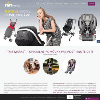 TMT MARKET - Špeciálne pomôcky pre postihnuté deti