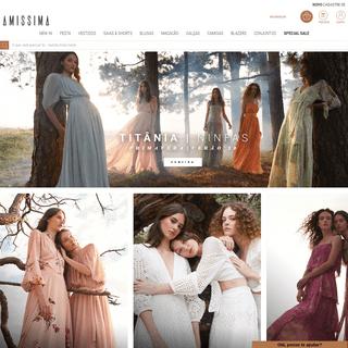 O Shop Online da Moda Feminina - Loja Oficial - Amissima