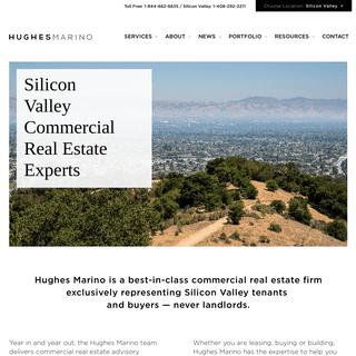 Silicon Valley Commercial Real Estate Experts - Hughes Marino