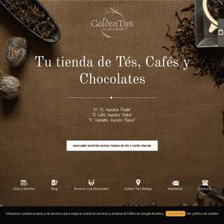 Goldentips - Tu Tienda de Tés, Cafés y Chocolates