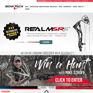 Bowtech Archery – An entire company obsessed with accuracy. Bowtech manufactures and distributes the world's finest compound b