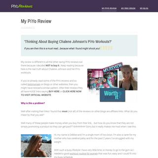 My PiYo Review - Here's Why I DIDN'T Buy It.. PiYo Reviews