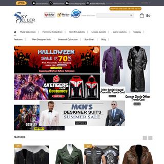 Sky-Seller- Genuine Leather Jackets for Men, Women & Unisex