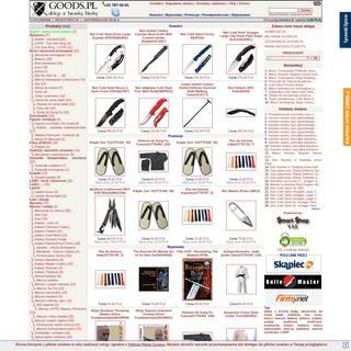 Biała broń, noże, miecze, szable, repliki, survival - sklep GOODS.PL -