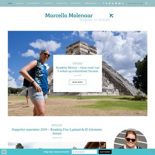 Marcella Molenaar - Inspire to Travel! - Ver weg of dichtbij huis; er is zoveel moois te ontdekken!