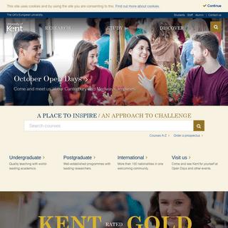 Home - University of Kent