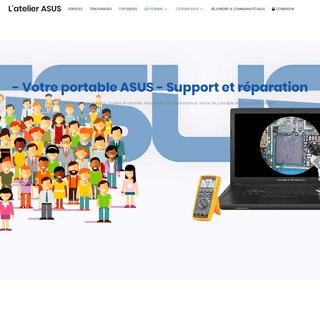Le forum des portables ASUS - L'atelier ASUS - Support et réparation. Tout pour votre portable ASUS.