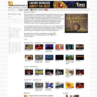 ArchiveBay.com - xtcabandonware.com - XTCabandonware - where history is stored. Offering game downloads since 1997