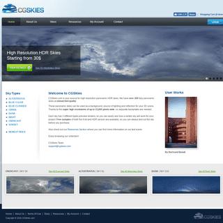 ArchiveBay.com - cgskies.com - CGSkies - 350+ Panoramic HDR Skies