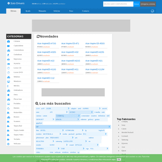 ArchiveBay.com - solodrivers.com - Descarga de drivers. Controladores de dispositivos. - Solo Drivers