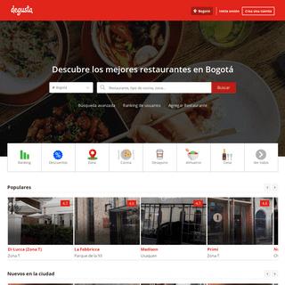 Restaurantes en Bogotá - Degusta Colombia [Sitio Oficial]