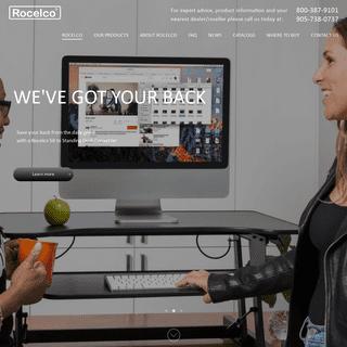 Rocelco Ergonomic Office Furniture Supplier
