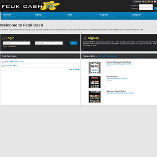 A complete backup of fcukcash.com