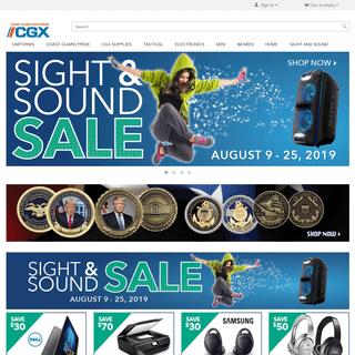 Coast Guard Exchange - shopCGX.com