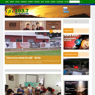 Noticias Radio Reflejos – Las noticias de mi comarca