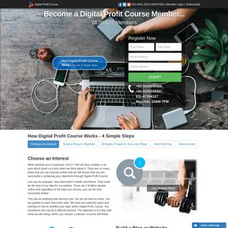 ArchiveBay.com - digitalprofitcourse.com - Digital Profit Course- Learn Digital Marketing From Home
