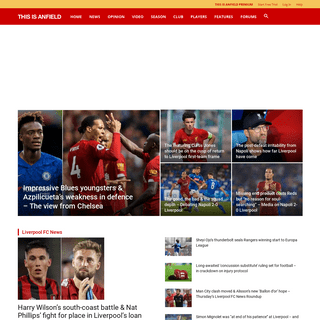 ArchiveBay.com - thisisanfield.com - Liverpool FC This Is Anfield - LFC News, Videos and Opinion