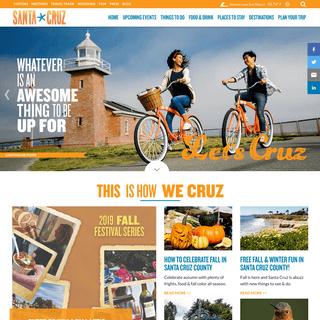Home - Visit Santa Cruz County