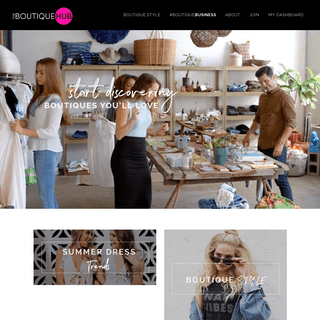The Boutique Hub - The Boutique Hub - The Boutique Community, Connected.