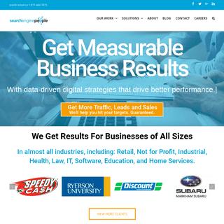 ArchiveBay.com - searchenginepeople.com - SEO Toronto Digital Agency Search Engine Optimization SEO Company Best PPC Canada