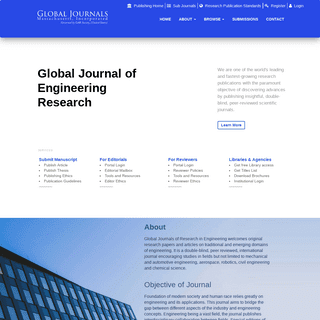 Global Journal of Research In Engineering