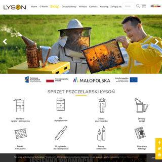 Łyson sklep - artykuły, sprzęt pszczelarski, akcesoria pszczelarskie
