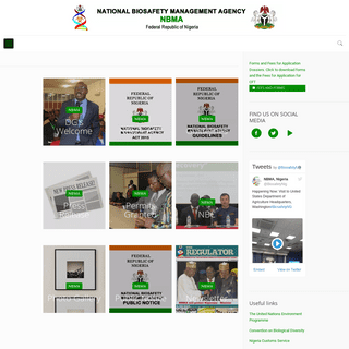 ArchiveBay.com - nbma.gov.ng - NBMA – Ensuring Proper Regulation of Modern Bio-Technology