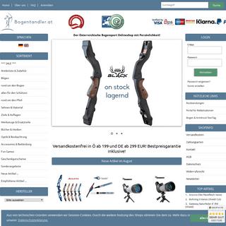 ArchiveBay.com - bogentandler.at - Bogentandler - Der Österreichische Bogensport und Armbrust Webshop