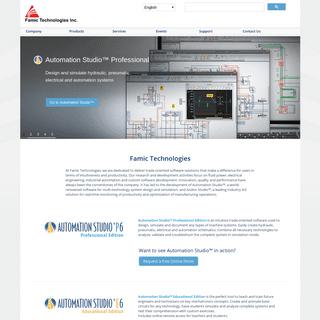 System Design & Simulation Software - Famic Technologies