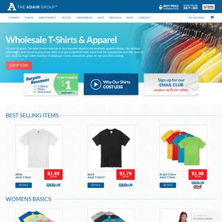 Wholesale Clothing & Apparel - T-Shirts, Polos, Sweatshirts & More