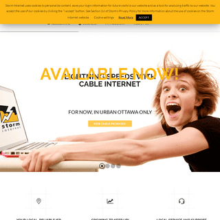Storm Internet – Your Local, Reliable Internet Service Provider