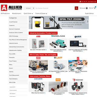 Allied Electronics & Automation - Industrial Automation & Control Products Distributor