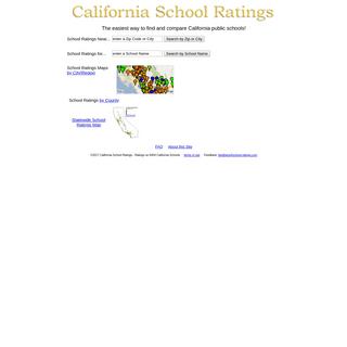 ArchiveBay.com - school-ratings.com - California School Ratings, rankings, test scores