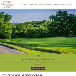 Swope Memorial Golf Course - Home