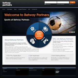 Betway Partners - Betway Partners – Chosen Sports Betting & Casino Affiliate Programme.