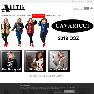 Abutik Webáruház