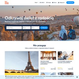 Rezerwuj atrakcje i wycieczki - GetYourGuide