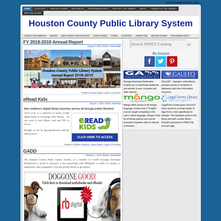 Houston County Public Library System -