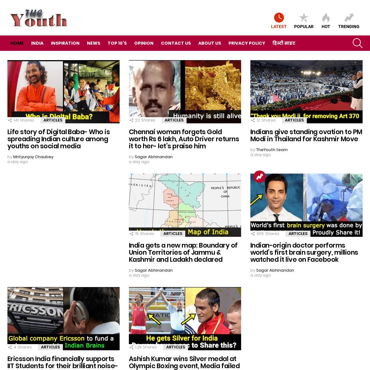 The Youth - New Era Journalism !!