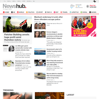 Your Home for the Latest and Breaking News - Newshub