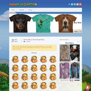 ArchiveBay.com - farmville2gifts.net - FarmVille 2 Gifts