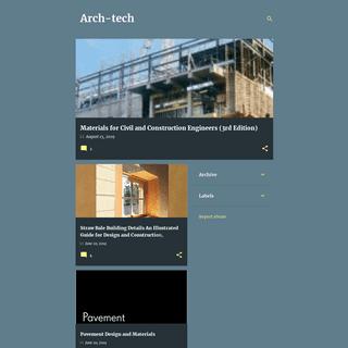 ArchiveBay.com - architecturetech.blogspot.com - Arch-tech
