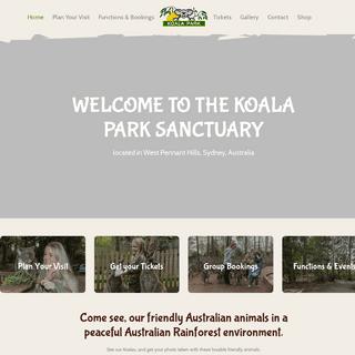 Home - Koala Park