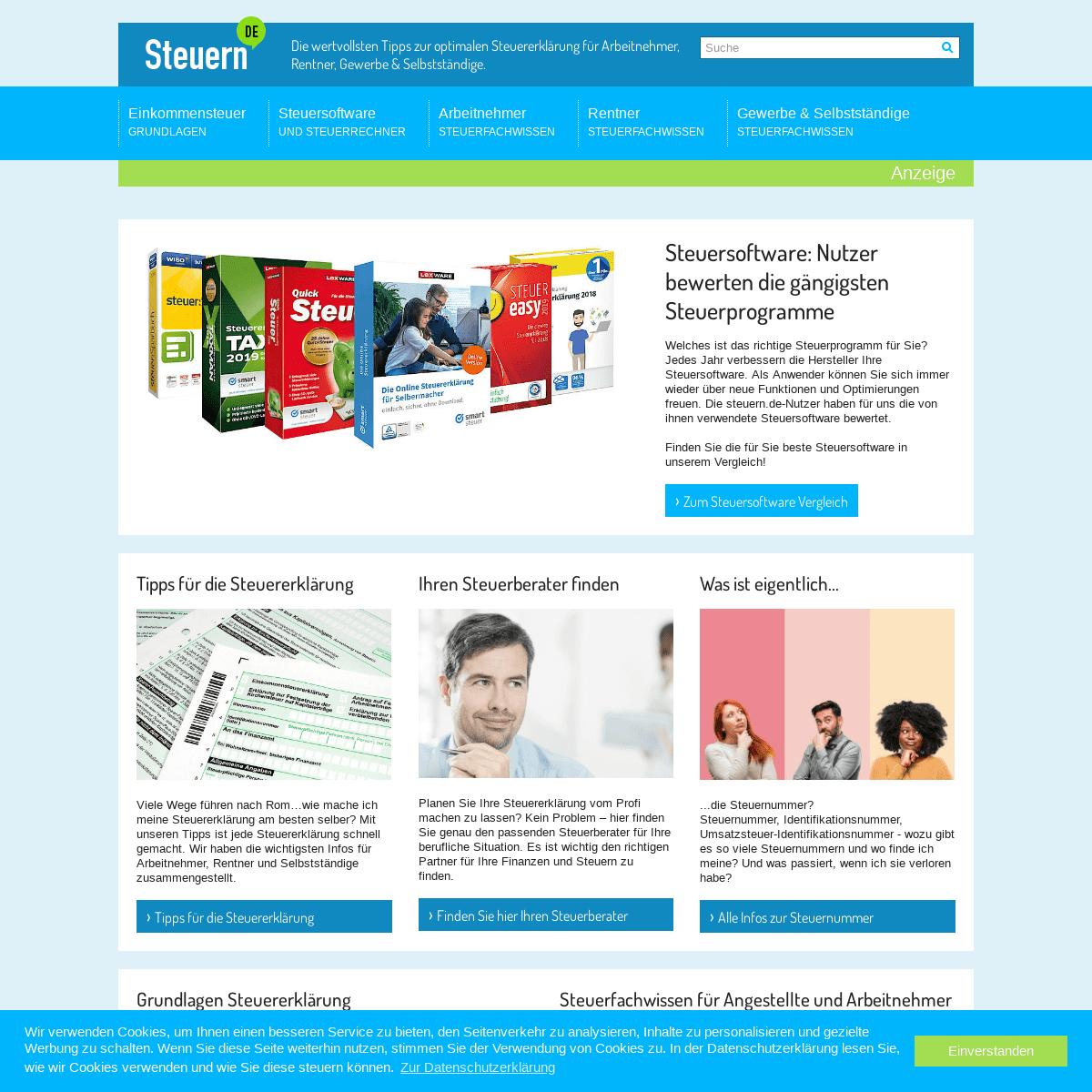 ArchiveBay.com - steuern.de - Steuererklärung einfach gemacht - Steuern.de
