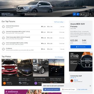 Acura MDX SUV Forums