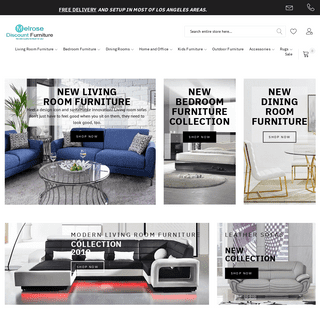 Furniture Store Los Angeles - Melrose Discount Furniture
