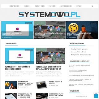 Systemowo.pl - Duża dawka informacji o systemach, porady, tipy, tricki - Systemowo.pl