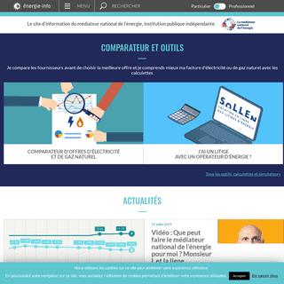 Energie-Info - Service d'information du médiateur national d'énergie